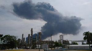 Bajo control y sin riesgo la planta de PMV en Coatzacoalcos