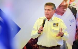 Listo Pepe Toño Estefan Garfias para el primer debate