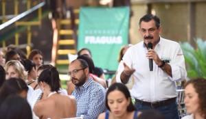 Rumbo seguro con Toño Fraguas para jovenes emprendedores