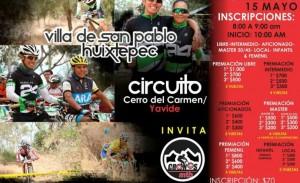 Anuncian carrera de ciclismo de montaña en Huixtepec