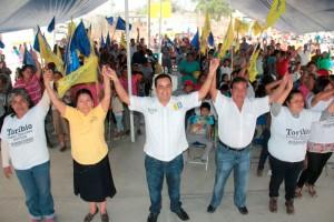 Toribio López Sánchez realiza intensa gira por distintos lugares del distrito XV