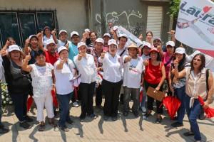 Legislaré para ampliar los beneficios de programas sociales en barrios y colonias: Laura Vignon