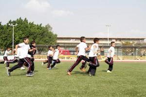 """Visitan alumnos de Escuela Primaria """"13 de Septiembre"""", Complejo Deportivo Zona Poniente"""