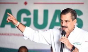 Ofrece Toño Fraguas mayor seguridad y desarrollo a comunidades oaxaqueñas