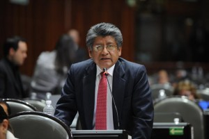 El GPPRD rechazará las observaciones del ejecutivo: Francisco Martínez Neri
