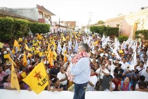 Pepe Toño Estefan en Tehuantepec y  San Blas: ¡Este arroz ya se coció!
