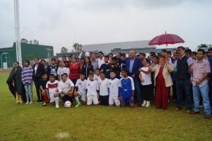 """Gobierno pone en marcha programa """"Fútbol por la inclusión"""" en Oaxaca"""