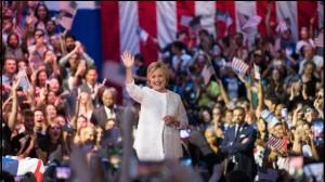 Hillary Clinton hace historia al recibir nominación presidencial del Partido Demócrata EU