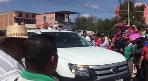 Sostiene Campa Cifrián reunión en Nochixtlán con dos horas de retraso