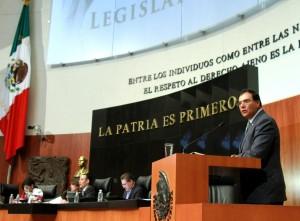 A propuesta de Benjamín Robles, Legislativo  asume compromisos de Carta de la Tierra
