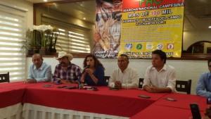 Marcharán campesinos en la Ciudad de México por recorte presupuestal