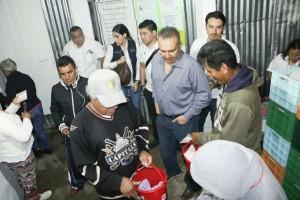 Al 90 por ciento  las lecherías Liconsa en Oaxaca.
