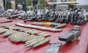 Destruyen en Oaxaca 991 armas de fuego aseguradas