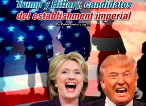 Trump y Hillary, candidatos del establishment imperial: Carlos Ramírez