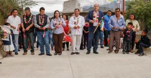 Suma municipio de Oaxaca más obras  de pavimentación para agencias capitalinas