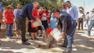 Lleva municipio servicio de drenaje a familias de Santa Rosa Panzacola