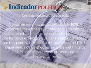 Crisis de modelo de desarrollo: Carlos Ramírez