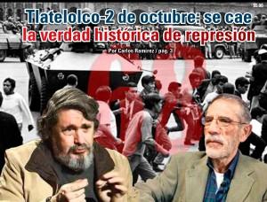 Tlatelolco-2 de octubre: se cae la verdad histórica de represión:  Carlos Ramírez