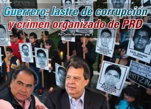 Guerrero: lastre de corrupción  y crimen organizado de PRD:  Carlos Ramírez