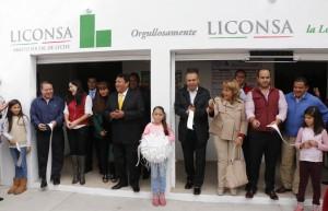 Con EPN, Liconsa alcanza 2 millones de beneficiarios en Edomex