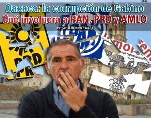 Oaxaca: la corrupción de Gabino  Cué involucra a PAN, PRD y AMLO: Carlos Ramírez