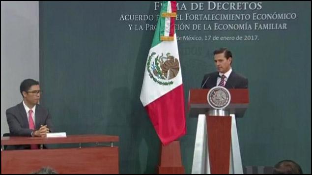 Peña Nieto firma decreto para repatriar capitales mexicanos en el extranjero