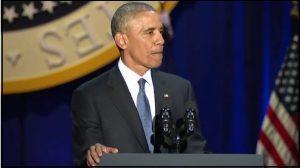 Obama dejará presidencia de EU con su más alto nivel de popularidad