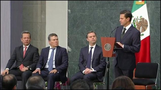Peña Nieto instruye a Segob y SEP reforzar medidas y protocolos de revisión en escuelas del país