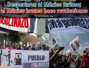 Despertaron al México furioso; el México bronco hace revoluciones: Carlos Ramírez