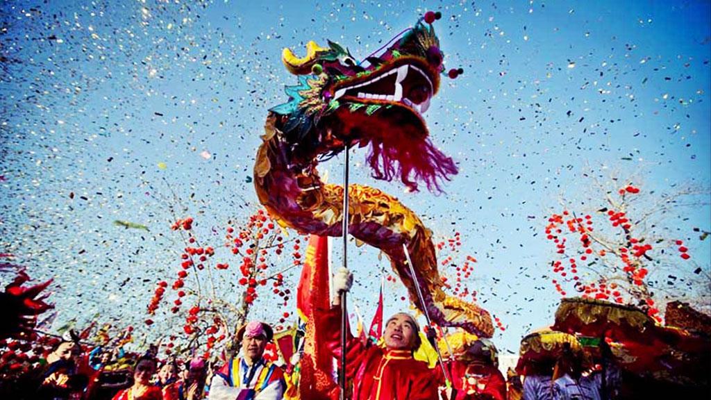 Festejan con danzas y demostraciones el Año Nuevo Chino