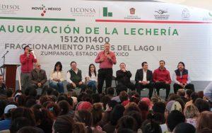 Liconsa cerca de alcanzar los 2 millones de beneficiarios  en el Estado de México