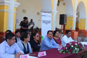 En coordinación con el ICAPET Capacita Ayuntamiento de Zaachila a la población para el autoempleo