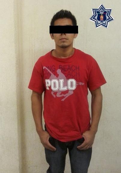 Detienen a presunto responsable de robo de celular: SSPO