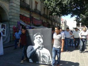 Con marcha piden justicia por el asesinato de Fidel López Nelio