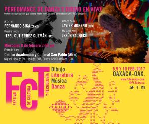 Iniciará este miércoles Festival de Cultura y Tecnología Oaxaca 2017