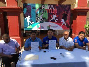 Anuncia Raúl Cruz Olimpiada Juvenil en Santa Lucía del Camino
