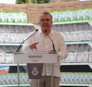 10 mil nuevos beneficiarios tendrá Liconsa  en Veracruz