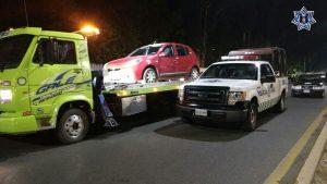 31 conductores detenidos en operativo alcoholímetro de la SSP