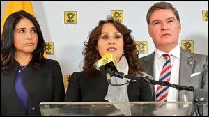 Morón nunca fue electo, mi coordinación apegada a estatutos: Padierna