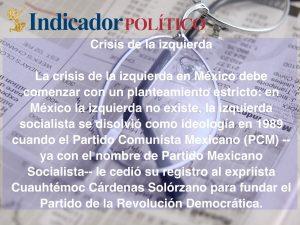 Crisis de la izquierda: Carlos Ramírez