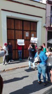 Padres de familia de la primaria Presidente Alemán exigen cese los robos en su escuela.
