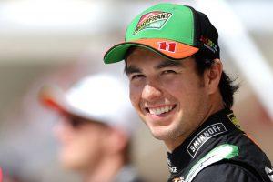 Piloto Sergio Pérez satisfecho por puntos conseguidos para su escudería Force India