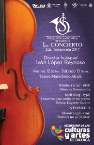 Estrena Segunda Temporada la Orquesta Sinfónica de Oaxaca