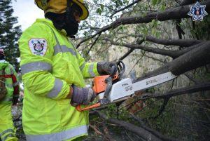 Por lluvias fuertes la SSPO activa Plan Estatal de Auxilio a la Población