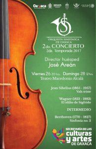 Seculta invita a conciertos de la Orquesta Sinfónica de Oaxaca