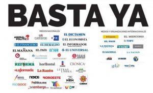 """Basta ya"": Horacio Corro Espinosa"