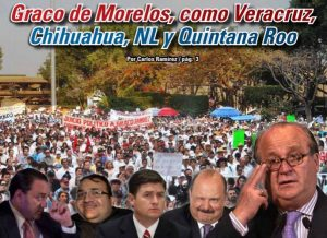 Graco de Morelos, como Veracruz, Chihuahua, NL y Quintana Roo: Carlos Ramírez