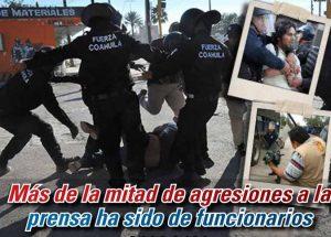Más de la mitad de agresiones a prensa ha sido de funcionarios: Carlos Ramírez