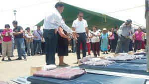 Se entregan apoyos de Fonden en Oaxaca