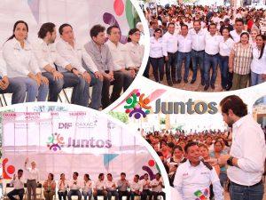 """Gira de trabajo """"Juntos"""" da muestra que trabajando en equipo se benefician a más Oaxaqueños: ICAPET"""